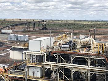 【写真1】バイヤウェン炭鉱の選炭設備
